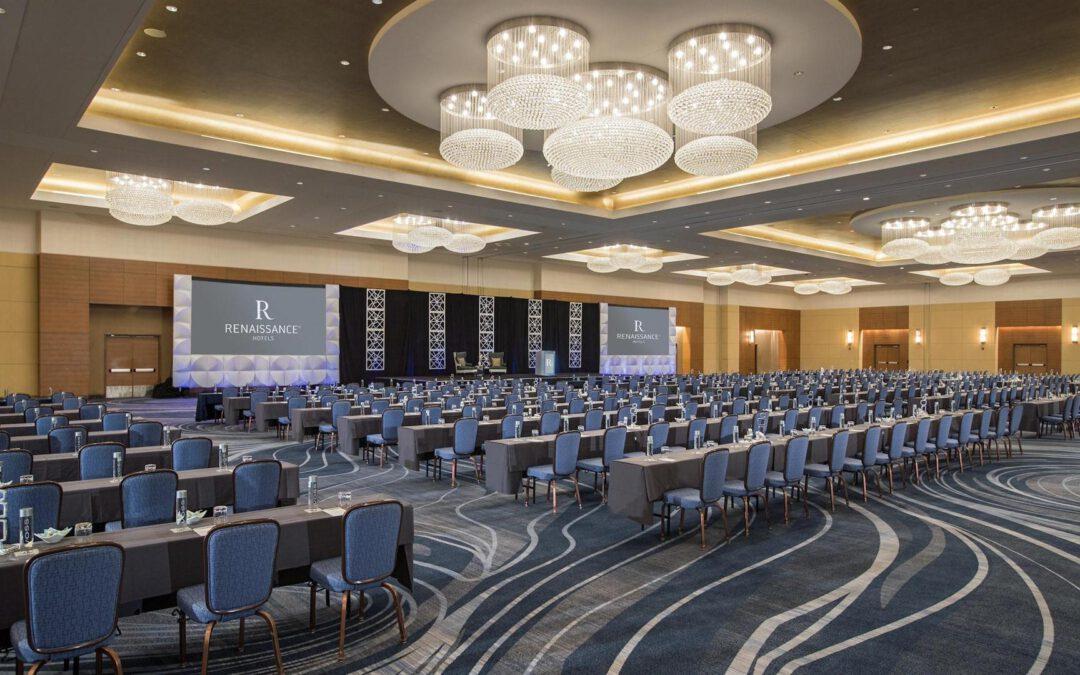 Konferencia- és Rendezvényközpontok kialakítása design szőnyegekkel